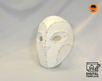 DIY Owl mask template for EVA foam