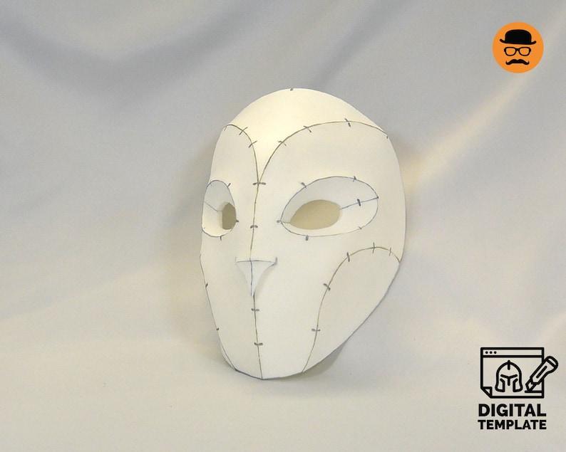 DIY Owl mask template for EVA foam image 0