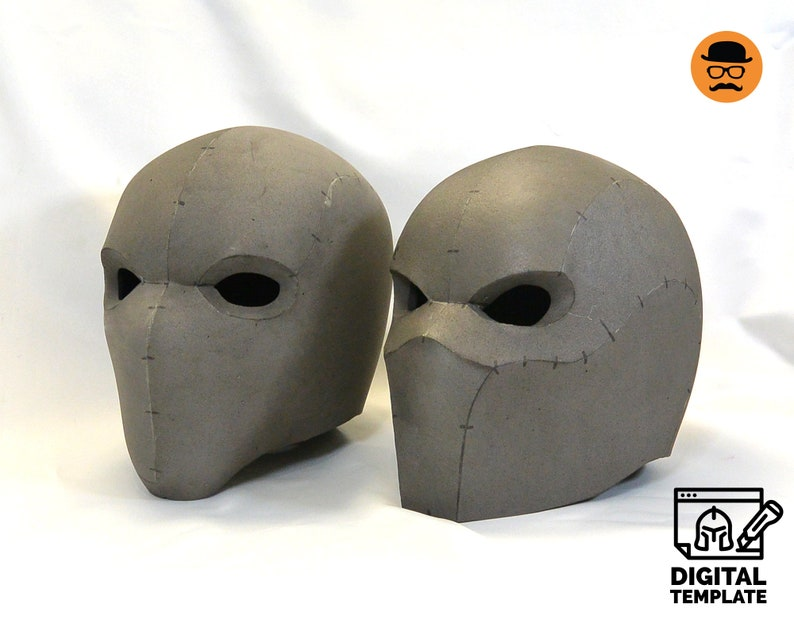 DIY Tactical helmets No1 and No2 template for EVA foam image 0