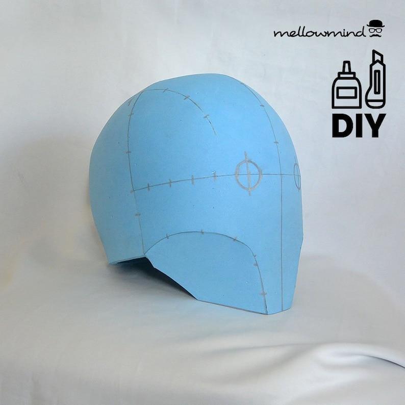 DIY Space helmet templats for EVA foam image 0
