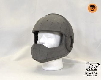 DIY Ranger helmet No1 templates for EVA foam