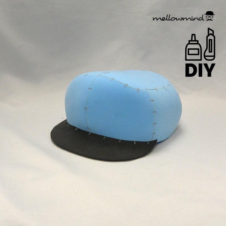 DIY Plumber's hat templats for EVA foam image 0