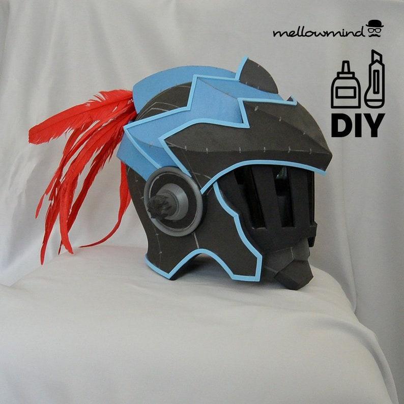 DIY Goblin Slayer helmet templats for EVA foam image 0