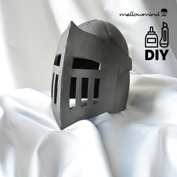 DIY Knight Helmet Template for EVA foam version B | Etsy