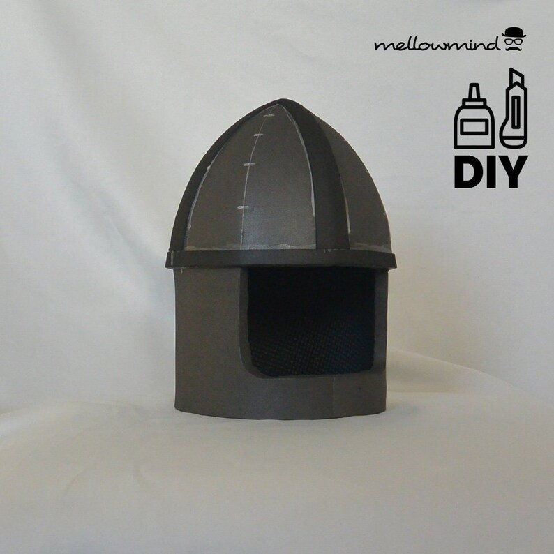 DIY basic knight helme templat for EVA foam image 0