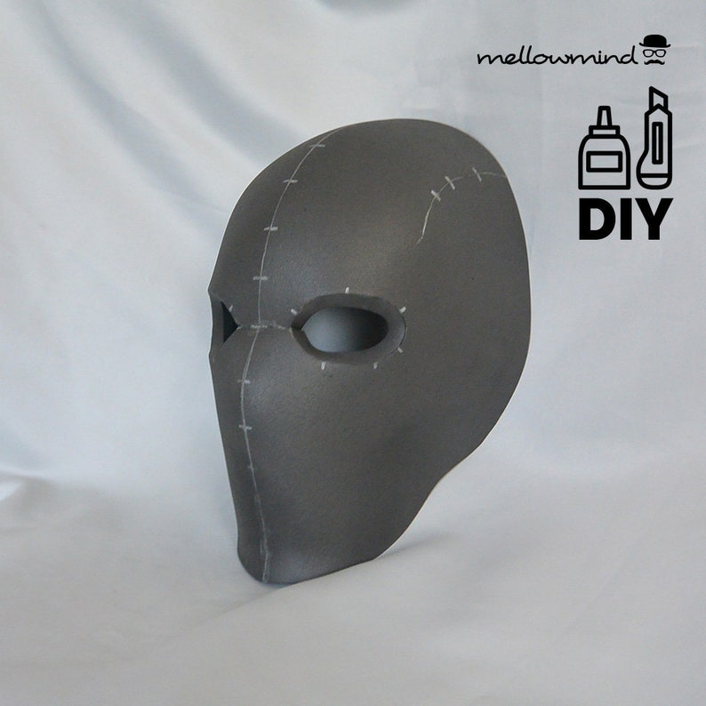 DIY basic face mask template for EVA foam image 0