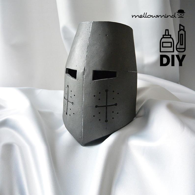 DIY Knight Helmet Template for EVA foam  version A image 0