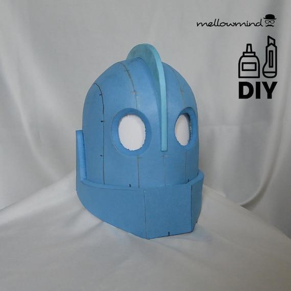 DIY Iron Giant helmet template for EVA foam   Etsy