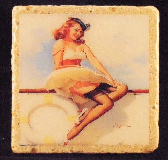 Lovely PinUps Coasters