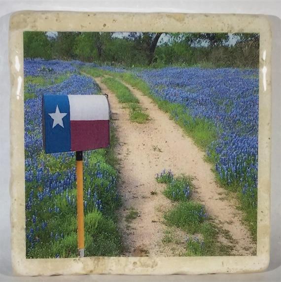 Texas Widflower Coasters