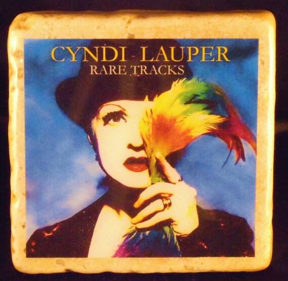 Cyndi Lauper Custom Coasters