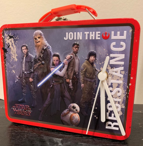 "Star Wars ""The Resistance"" Lunch Box Clock"