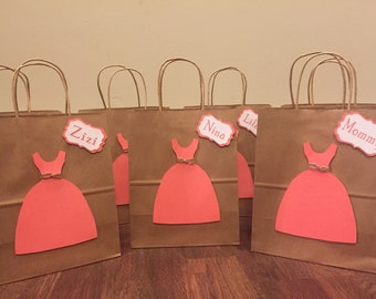 Gift Bags for Bridesmaids, Party Favor Bags 6+ pk