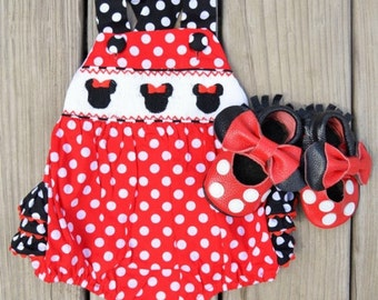 99822c78968 Minnie mouse romper