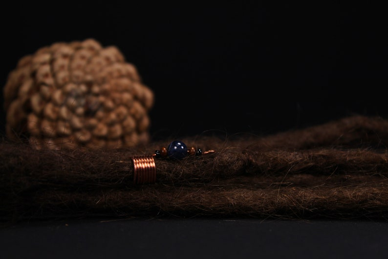 Wire Bead Boho Dread Jewelry Dread Jewelry Wire Dread Bead Dread Beads