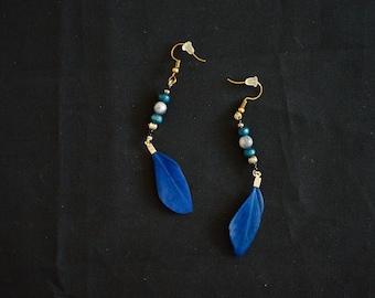 Feather Earrings, Feather Jewelry, Earrings