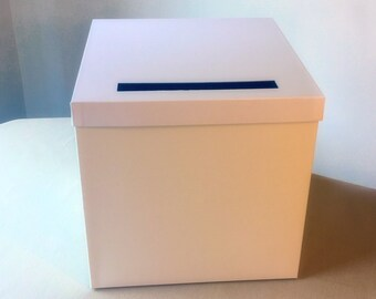 DIY  White Deluxe Wedding Card Box 12 x 12 x 12