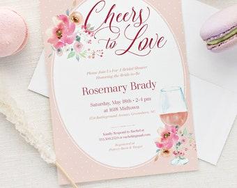 cd3b86ee8c22 Rose All Day Bridal Shower Invitation