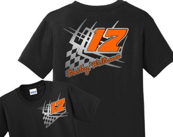 Ladies racing shirts racing shirts pit crew shirts custom for Racing t shirts custom