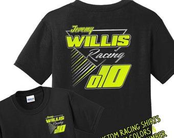e2c87b70e Personalized Racing Shirts, Custom Racing Shirts, Dirt Racing Shirts,  Motorcycle Racing shirts, BMX Racing shirts, Flat Track Racing Shirts