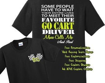 e7dfbaf14 Go Kart Racing, Cart Racing, Go Kart Favorite Driver, Dirt Tracking Racing  Shirts, Favorite Driver Shirts