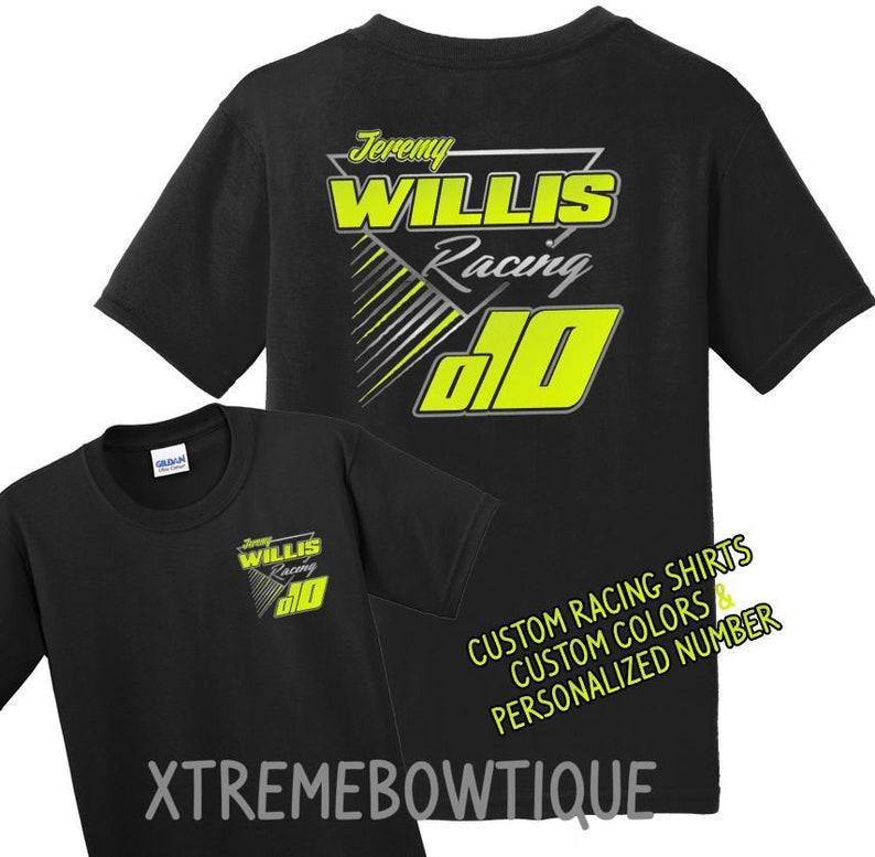 40331444a Racing Shirt Custom Racing Shirt Pit Crew Shirt Dirt Racing   Etsy