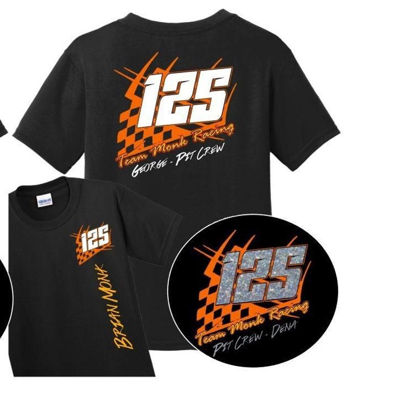2f6eaba01 Custom Racing Shirts Pit Crew Racing Shirts Motorcycle | Etsy