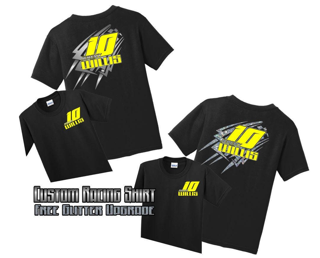 Personalized Racing Shirts Custom Racing Shirts Dirt Racing Etsy