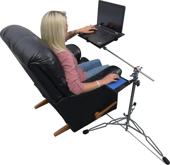 Magnificent The Mylaptopstandrocks Is Designed For Recliners And Chairs And Couches Ibusinesslaw Wood Chair Design Ideas Ibusinesslaworg