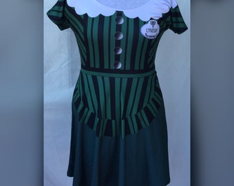 Custom Name Haunted Mansion cast member Inspired Skater Dress