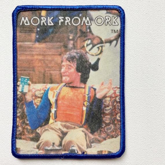Vintage Mork & Mindy Photo Patch - image 1