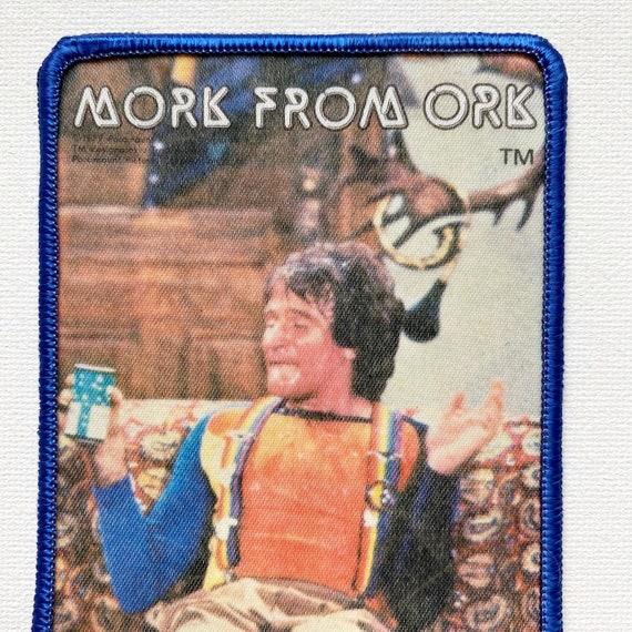 Vintage Mork & Mindy Photo Patch - image 2