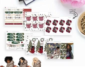 Santa Baby - Add-On Sticker Kits | Planner Sticker Kit