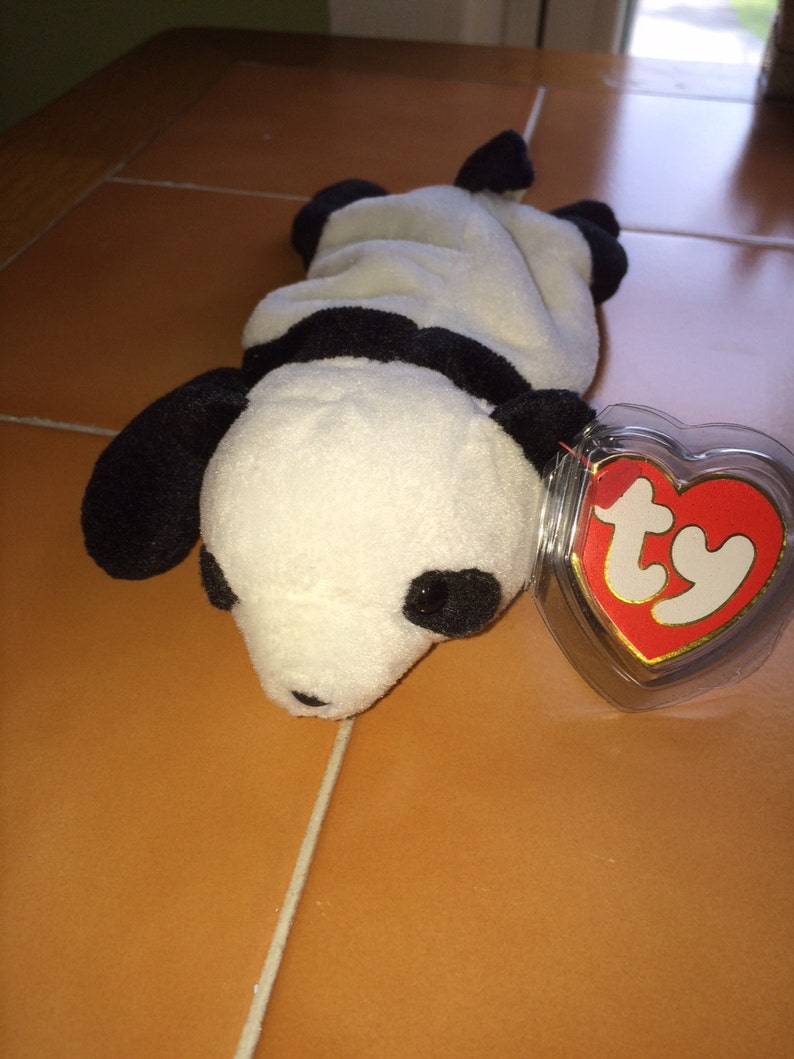 93e858cd40f Ty Beanie Baby Peking 3rd Generation EXTREMELY RARE