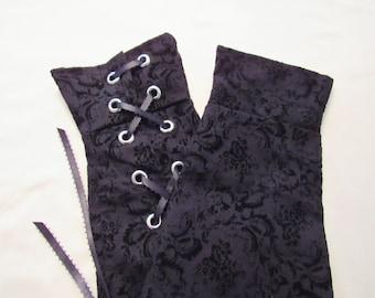 Fingerless Gauntlets (gloves)-Plain