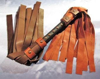 Florentine Flogger  - Brown and Orange -  Mature