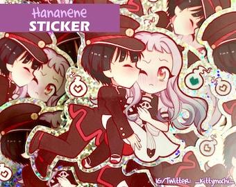 Hananene Holo Sticker