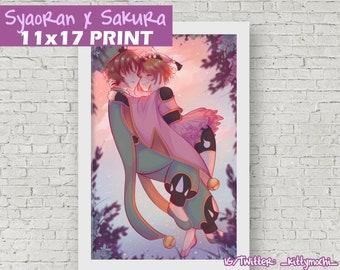 Syaoran x Sakura Cardcaptor Print