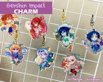 Genshin Impact Rainbow Holo Charms