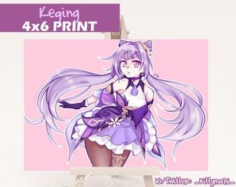 Genshin Impact Keqing Print