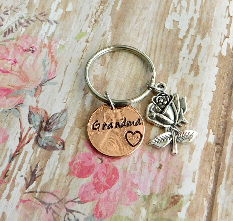 Grandma Keychain Gift For Mothers Day