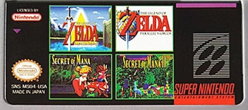 Zelda On Snes