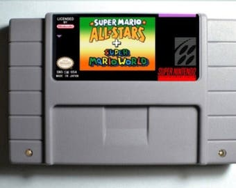Super Mario All Stars and Super Mario World