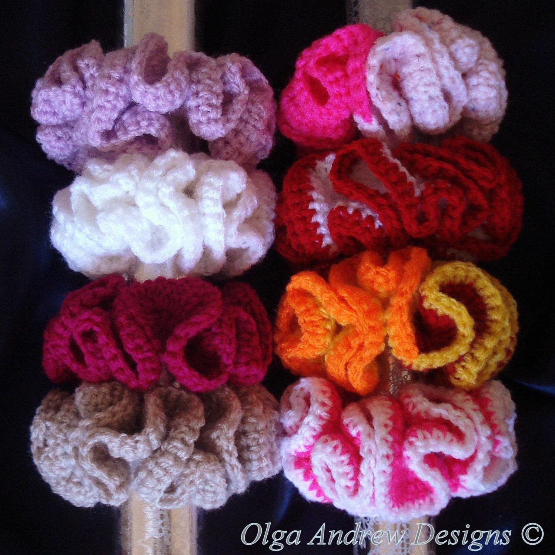 Scrunchie crochet pattern crochet scrunchie pattern crochet ...