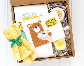 Pregnancy Gift Basket | Expect Mom Gift | Congratulations Pregnancy Gift Box | Gift for Pregnant Woman | New Mom to Be Care Package