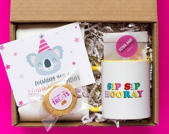 Happy Cake Day | Birthday Gift for Best Friend | Custom Birthday Gift Box for Her | Send A Gift