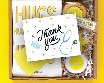 Thank You Gift Box Nurse | Frontline Worker Gift | Nurse Thank You Care Package | Frontline Hero