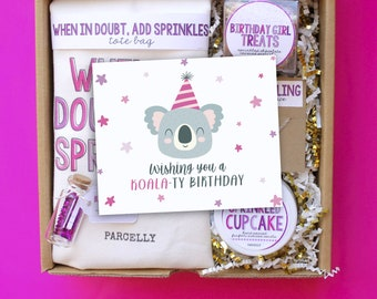 Funny Birthday Gift Basket Box For Her Best Friend Care Package Send A