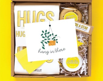 Sunshine Gift Box | Cheer Up Gift | College Care Package | Sympathy Gift Basket | Thinking of You Gift