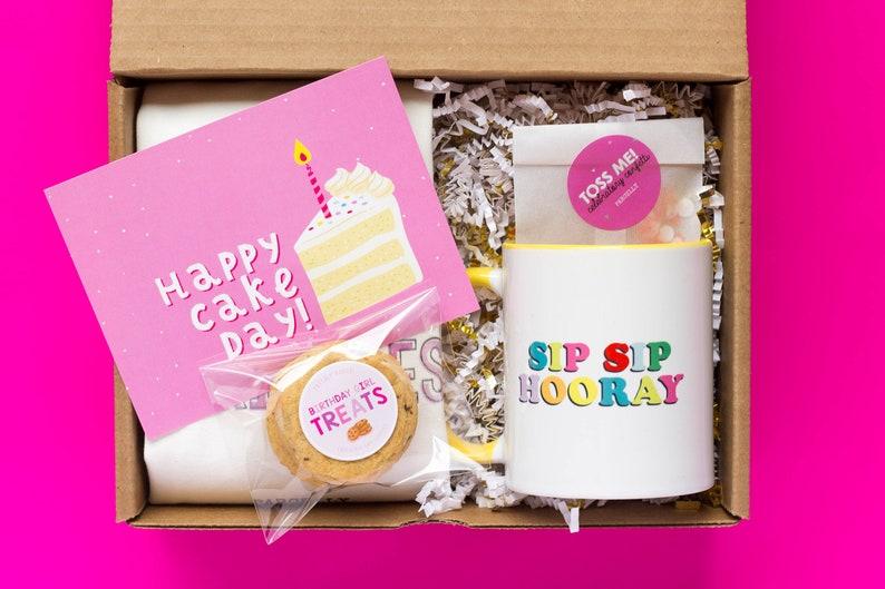 Happy Cake Day Birthday Gift For Best Friend Custom